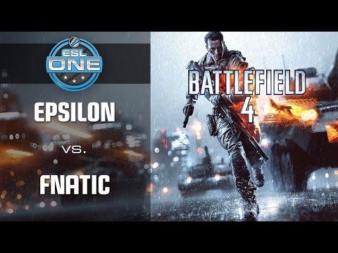 Fnatic vs. Epsilon - Grand Final - ESL One 2014 - Fall Season Finals - Battlefield 4