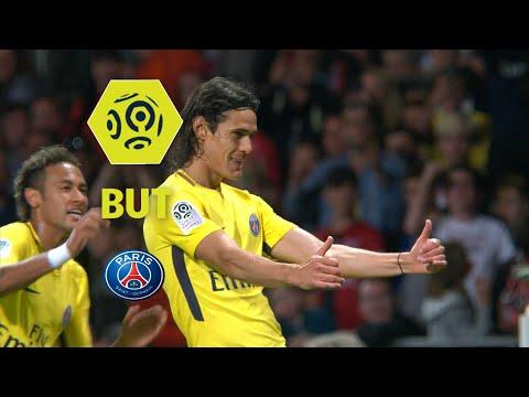 But Edinson CAVANI (62') / EA Guingamp - Paris Saint-Germain (0-3)  / 2017-18