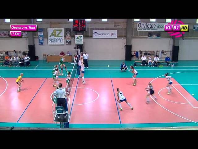 Orvieto vs Todi - 1° Set