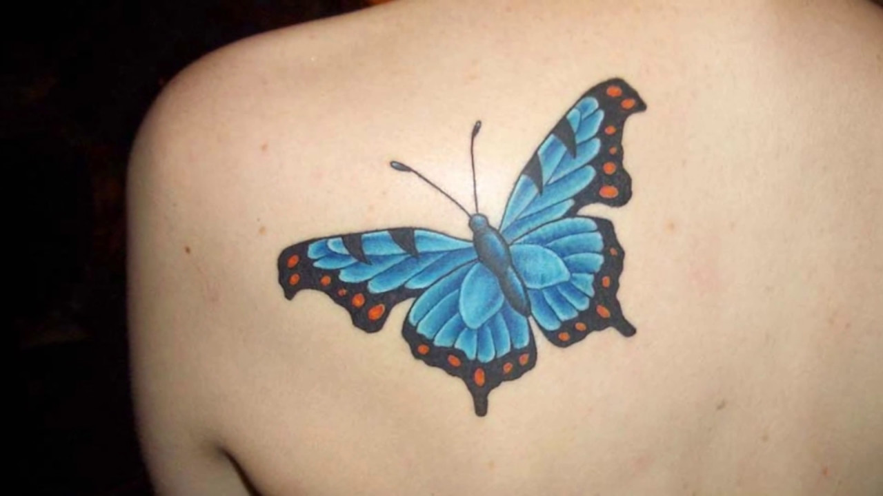 10 Increibles Tatuajes De Mariposas A Color Youtube - Tattoo-mariposas