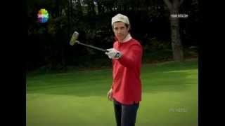 pis yedili zeki golf dersi :)