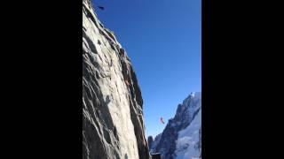 Wingsuit Aiguille du Midi Mont Blanc