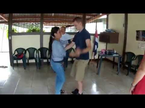 First Merengue dance (Costa Rica)