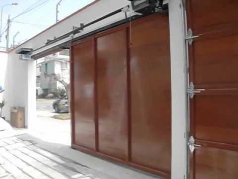 Puertas automaticas en peru apertura de puerta corrediza for Apertura puertas