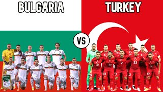 Bulgaria vs Turkey Football National Teams 2020