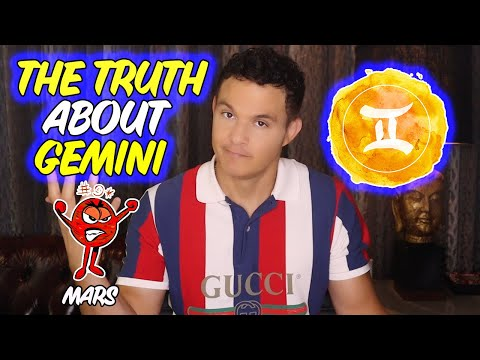 GEMINI Energy (Anger, Ambition, and Physical Intimacy) In the Mars Position