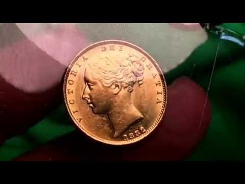 London Coin Fair 2016, 1882-M Shield Sovereign and my 4th 1/4oz gold queens beast