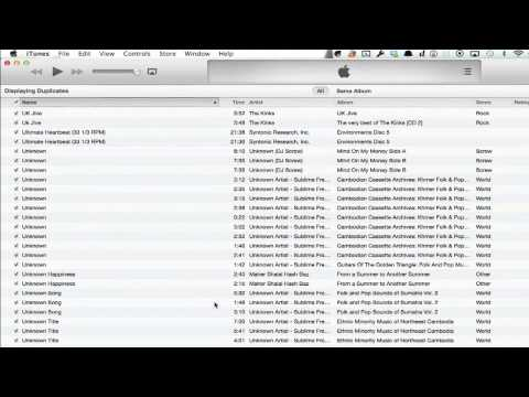 How to Remove Duplicate Songs From an iPhone : iPhone Troubleshooting