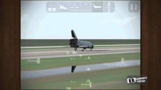 F SIM Space Shuttle - iPhone Game