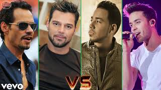Marc Anthony, Romeo Santos, Prince Royce, Ricky Martin Exitos Sus Mejores Canciones