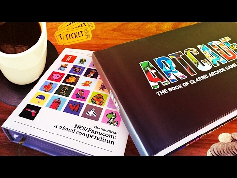 These Retro Video Game Art Books Belong on Your Coffee Table - Up At Noon Live!