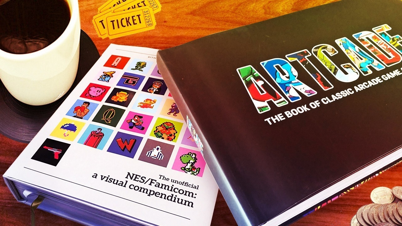 These Retro Video Game Art Books Belong On Your Coffee Table Up