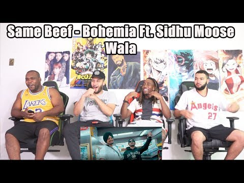Same Beef Bohemia Ft. Sidhu Moose Wala  Byg Byrd Reaction