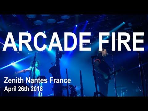 Arcade Fire Live Full Performance 4K @ Zenith Nantes April 26th 2018 Infinite Content Tour Mp3
