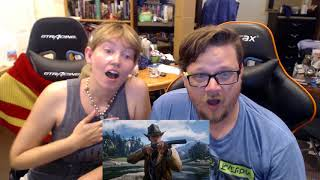 Red Dead Redemption 2 - Gameplay Reveal - REACTION!