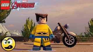 LEGO Avengers (Vingadores) Wolverine - Criando Personagens