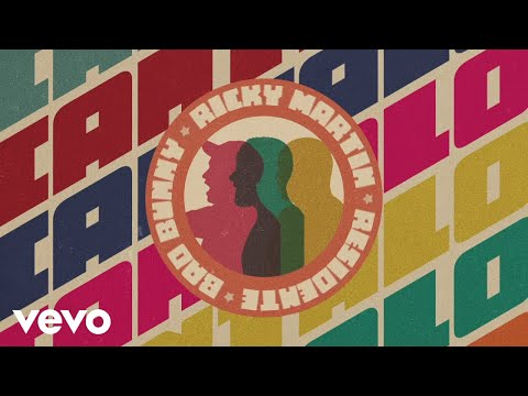 Ricky Martin, Residente, Bad Bunny - Cántalo (Audio)