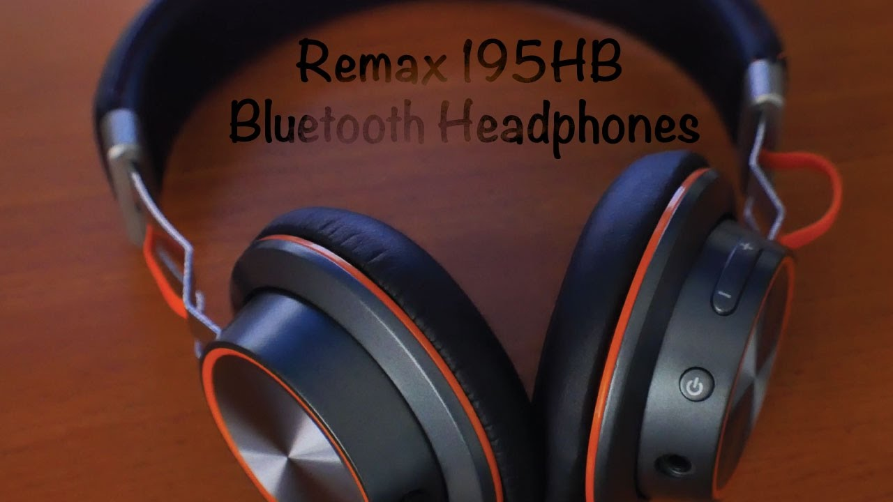 Gf Remax 195hb Bluetooth Headphones Review Youtube