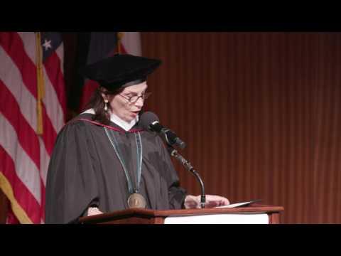 The LBJ School of Public Affairs 2017 Commencement Ceremony