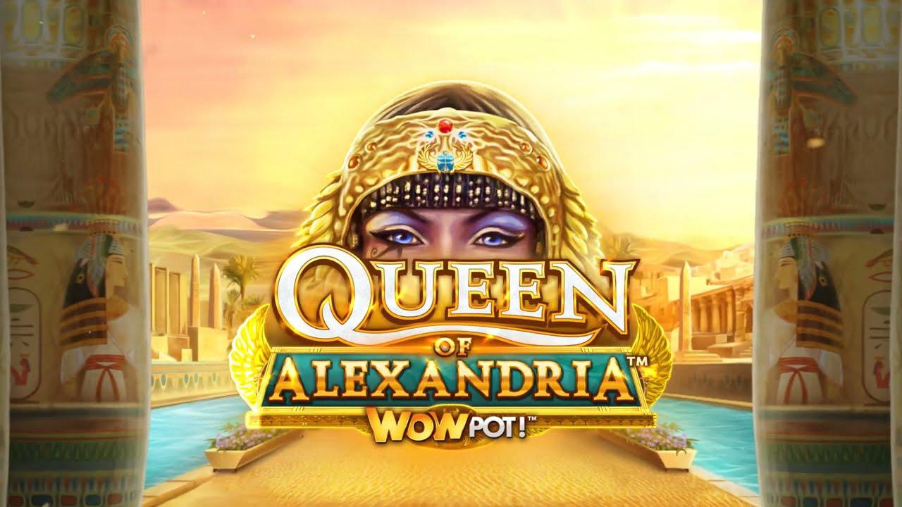 Queen of Alexandria WOWPOT! Slot Play Free ▷ RTP 92.5% & Medium Volatility video preview