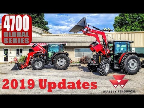 Massey Ferguson 4700 Global Series (2019 Updates) Now Built in the Americas