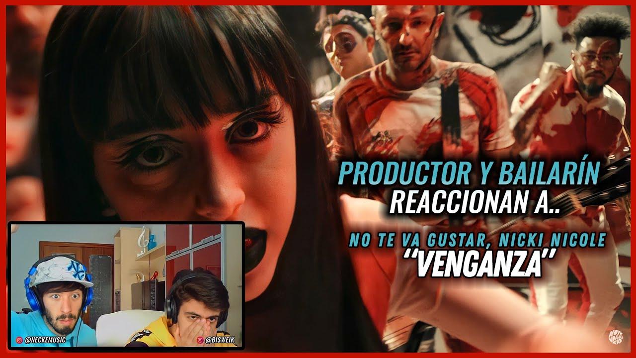 Download (Reacción Productor Y Bailarín) No Te Va Gustar, Nicki Nicole - Venganza   #NeckeYBisweik