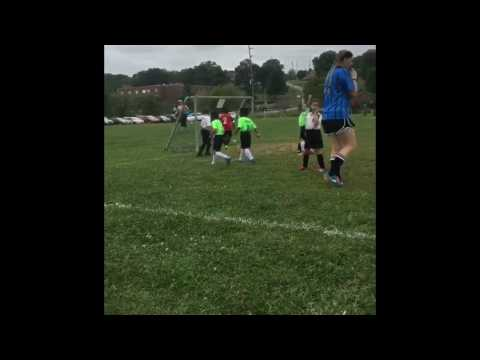 5 year old soccer player.