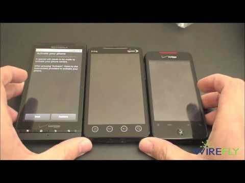 Motorola DROID X Unboxing (Verizon Wireless)