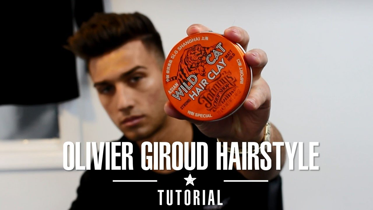 How To Style Olivier Giroud Hairstyle Tutorial By Kieron The Barber