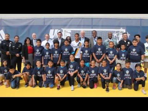 LA Galaxy at Jackson School