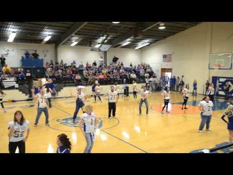 Ringling High School Gold Ball Dancers 2013