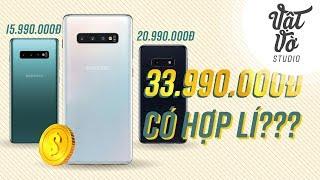Samsung Galaxy S10+ cao nhất 34 triệu, giá vậy hợp lí chưa?
