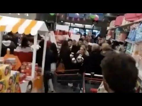 Caos en supermercados de Francia por una oferta de Nutella