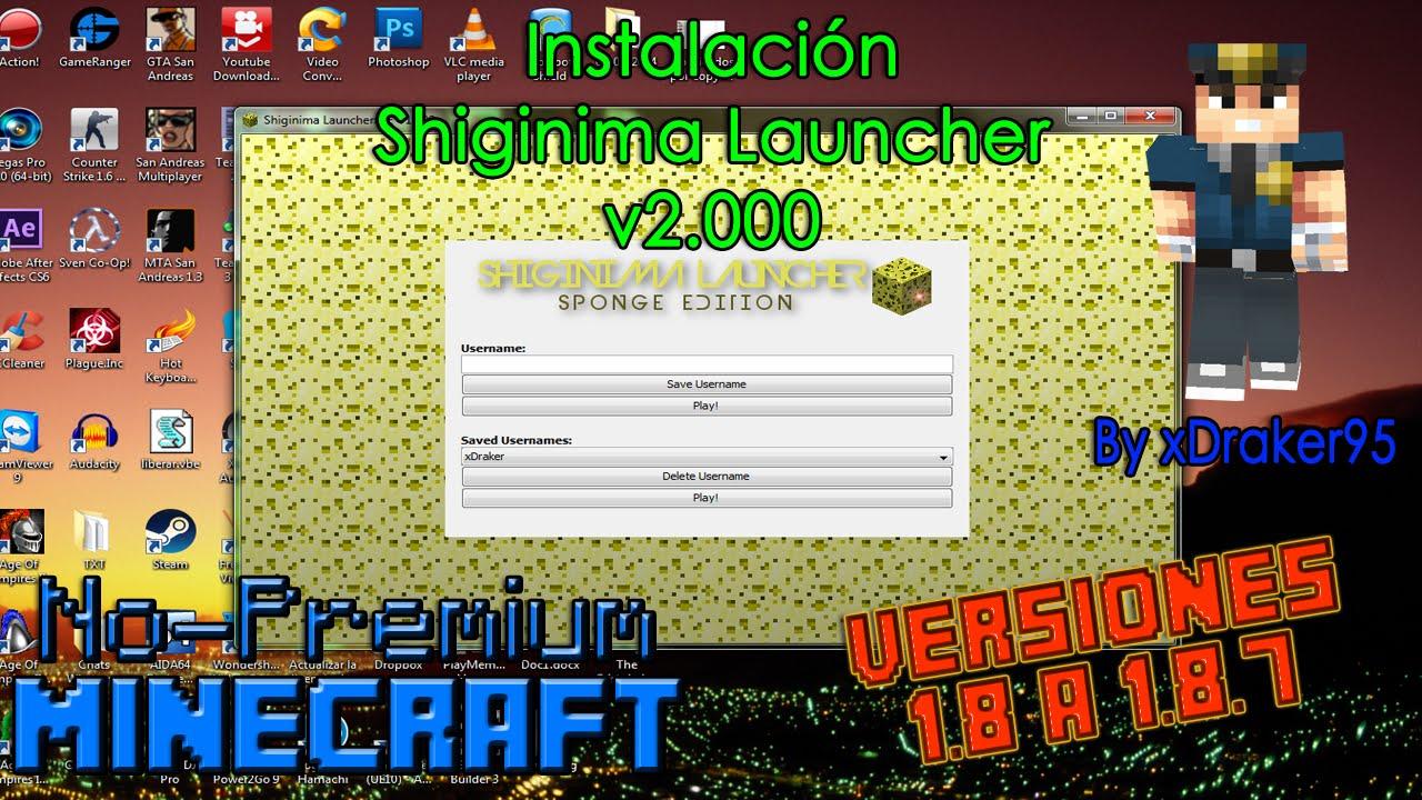 shiginima launcher 1.8