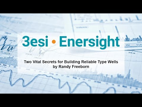 Two Vital Secrets for Building Reliable Type Wells by Randy Freeborn