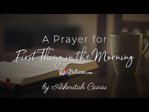 Sunday Prayer: A Powerful Morning Prayer to Focus Your Heart