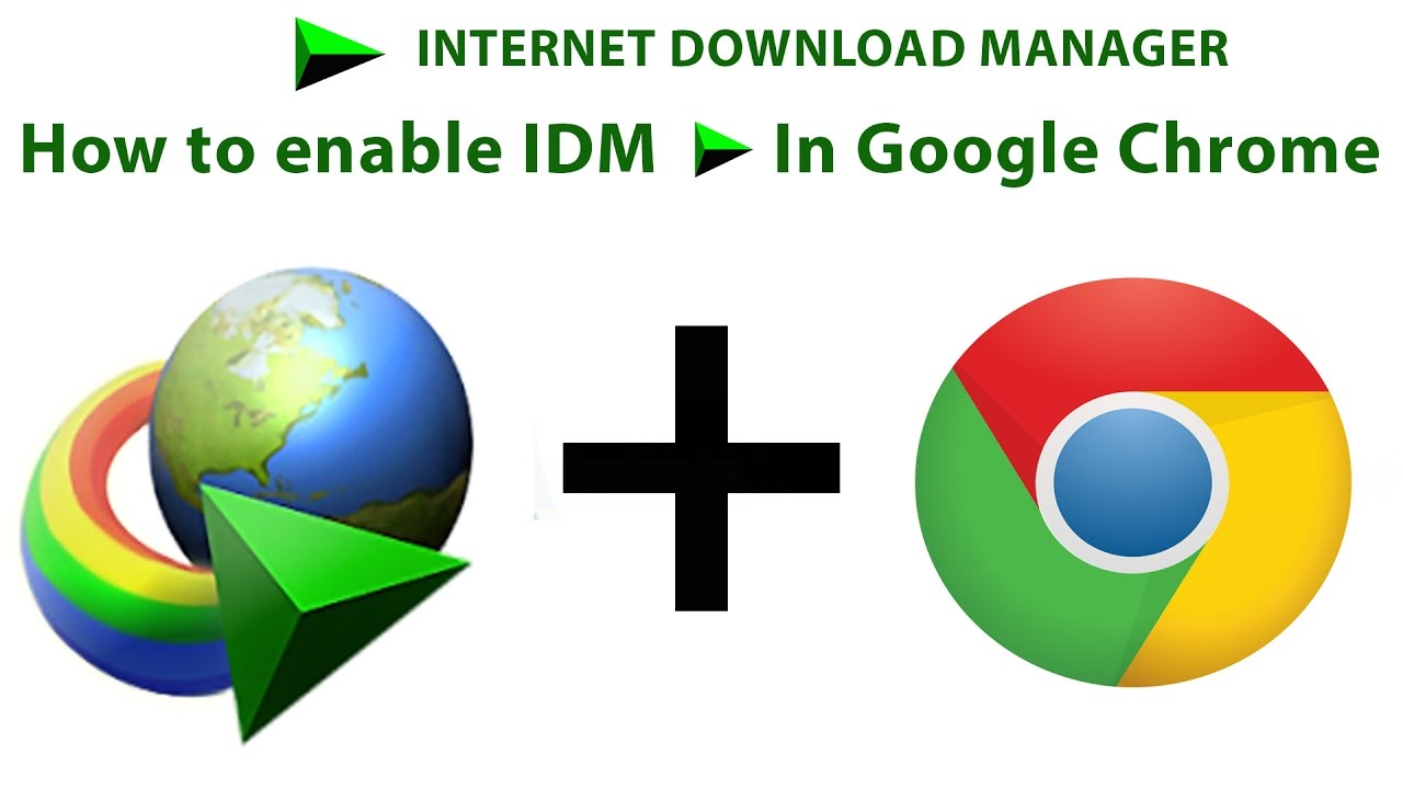 how to add idm to chrome extension