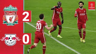 Highlights: Liverpool 2-0 RB Leipzig | Salah and Mane on target in Budapest