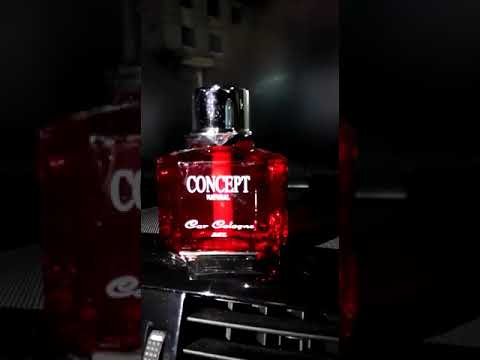 Concept Dashboard Perfume Red