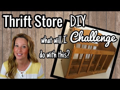 Taking on the THRIFT STORE DIY CHALLENGE with BARGAIN BETHANY | Collaboration