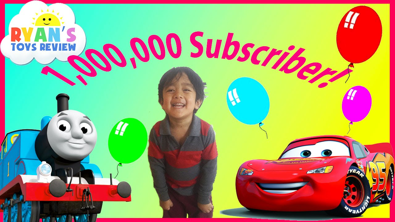 one million subscribers best of toysreview