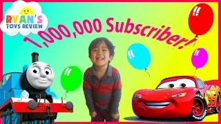 One Million Subscribers Best of Ryan ToysReview thumbnail