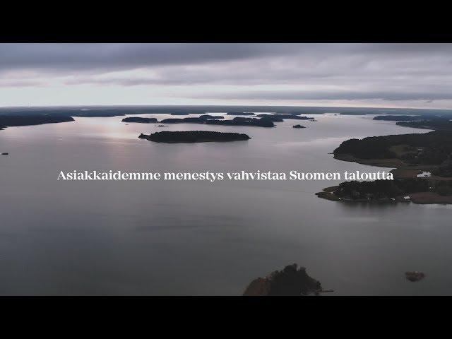 Finnvera: Asiakkaidemme menestys vahvistaa Suomen taloutta