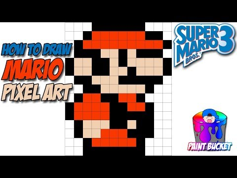 How To Draw Super Mario Bros 3 Smb3 Pixel Art Sprites Drawing