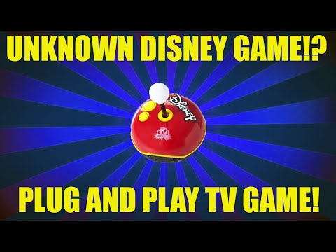 Unknown Disney Games!? -  Disney's TV Plug And Play Overview