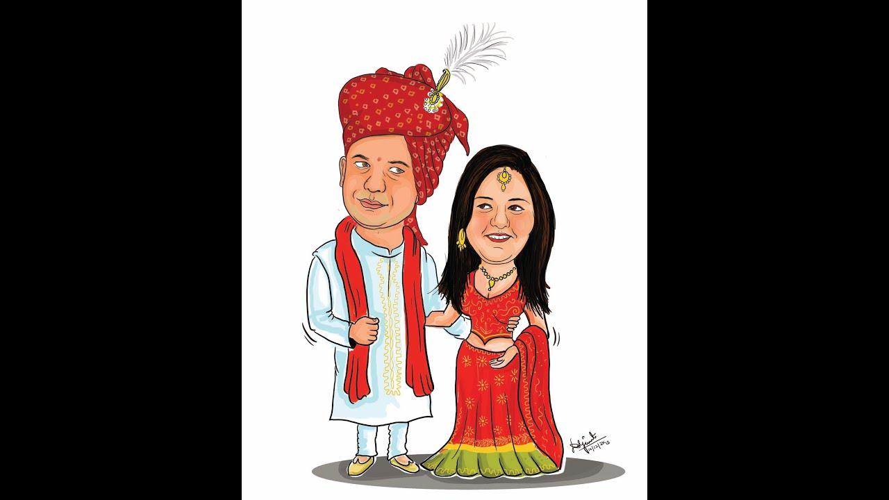 Wedding Cartoons Design - YouTube