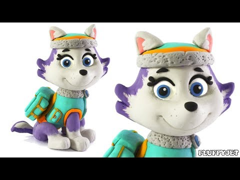 Everest Paw Patrol Stop Motion ● Play Doh Videos ● Patrulla canina plastilina claymation