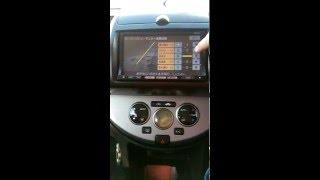 Настройка яскравості камери заднього виду на Nissan Note, (магнітола MP310-A)