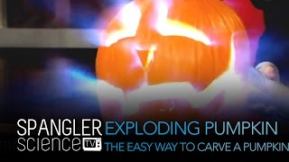 Exploding Pumpkin The Easy Way To Carve A Pumpkin - Cool Science Experiement thumbnail