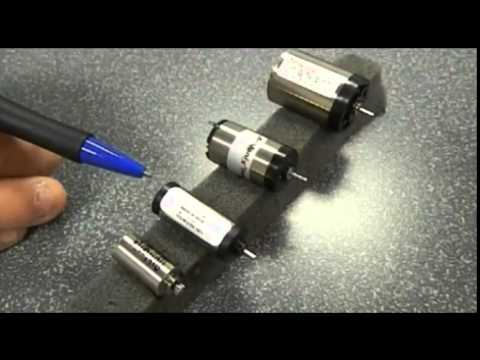 Athlonix High Power Density Brush DC Motors by Portescap
